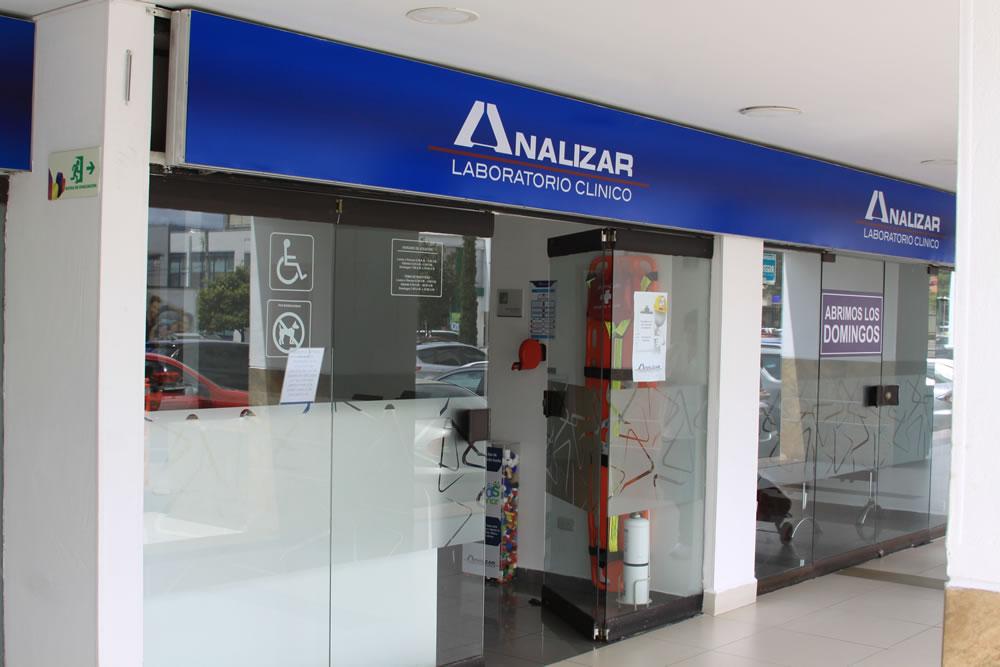 Analizar Laboratorio Clínico centro comercial portoalegre