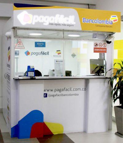 Paga facil bancolombia centro comercial portoalegre