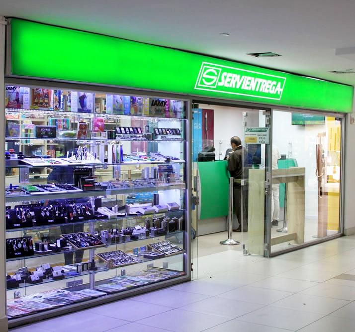 servientrega centro comercial portoalegre