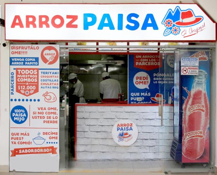 arroz paisa centro comercial portoalegre
