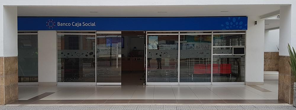 Banco caja social centro comercial portoalegre