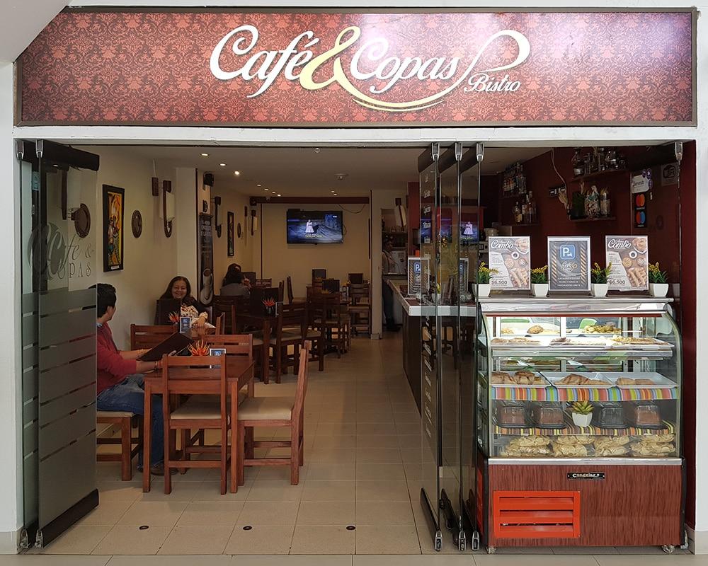 Cafe & Copas centro comercial portoalegre