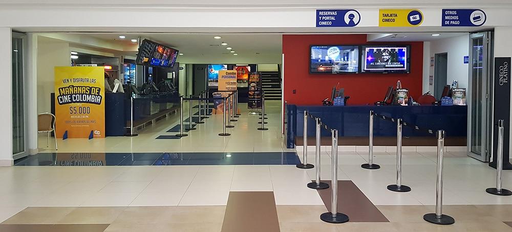 cine colombia centro comercial portoalegre