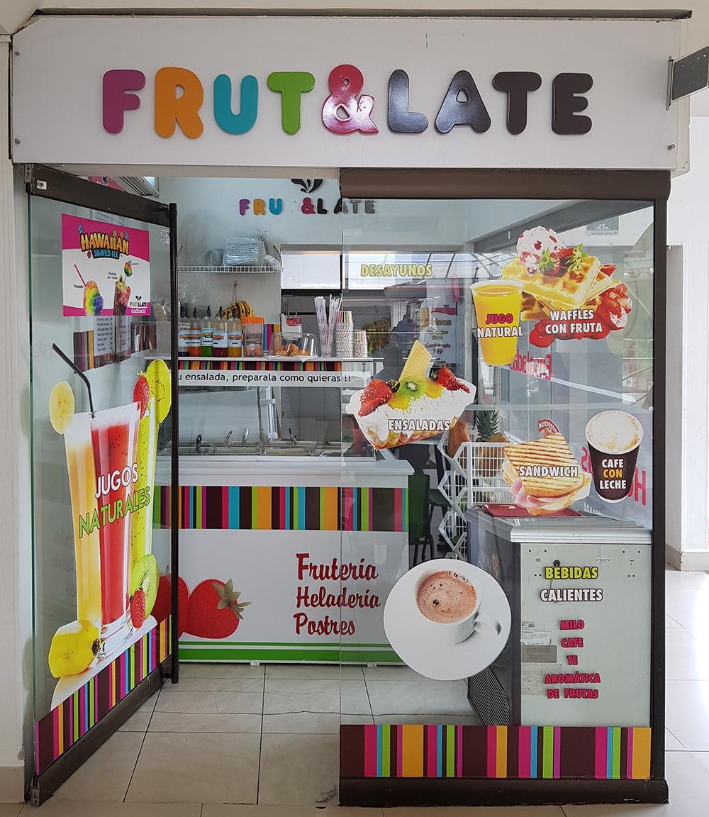 frut & late centro comercial portoalegre