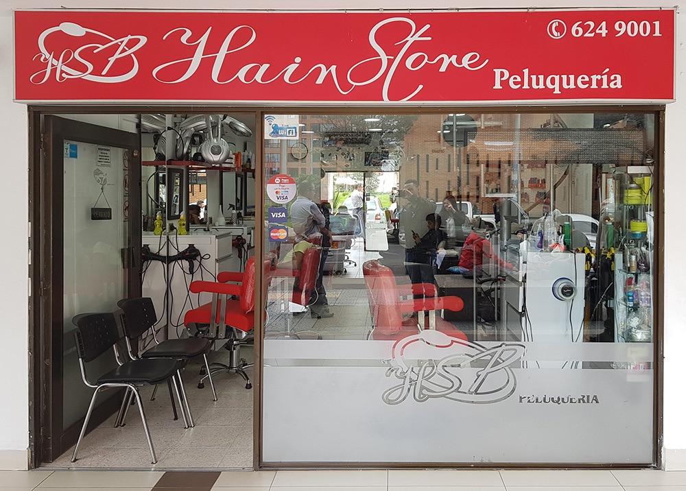Hair Store peluquería centro comercial portoalegre