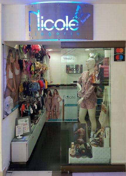 Nicole lingerie centro comercial portoalegre