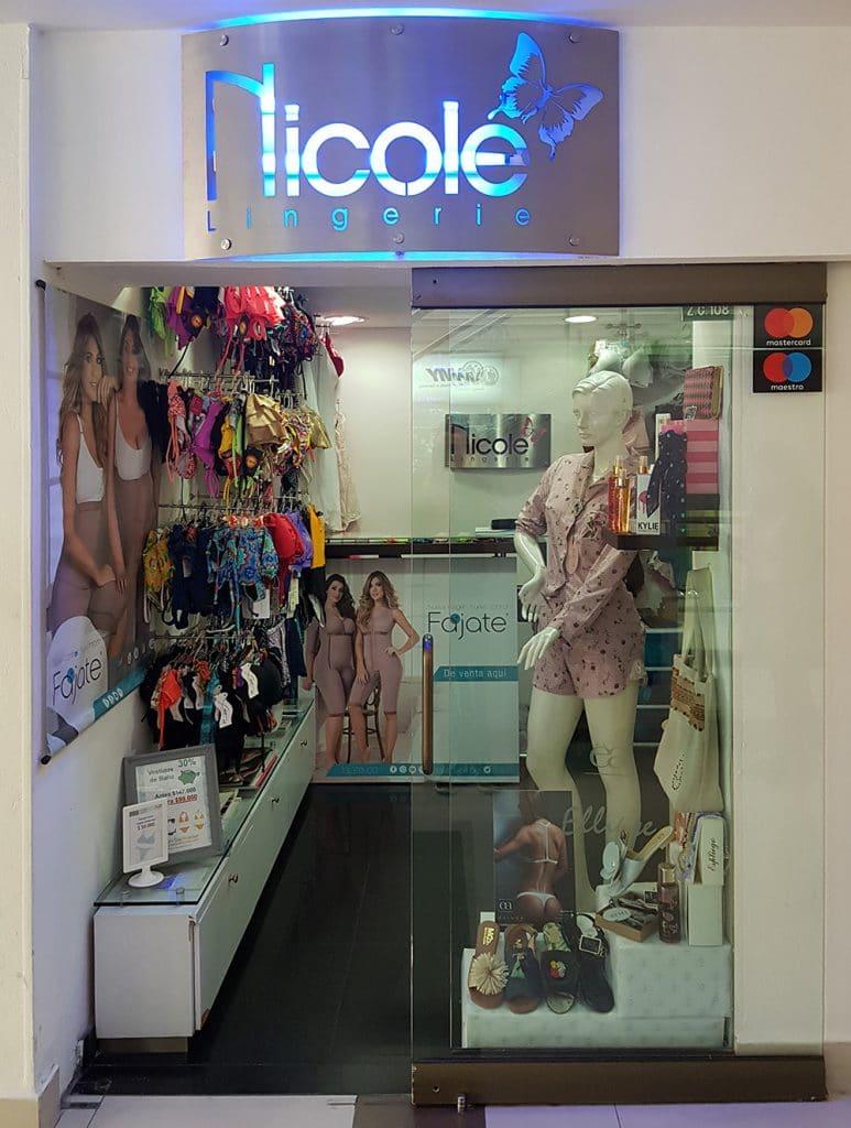 678d4babb Nicole Lingerie - Centro Comercial Portoalegre